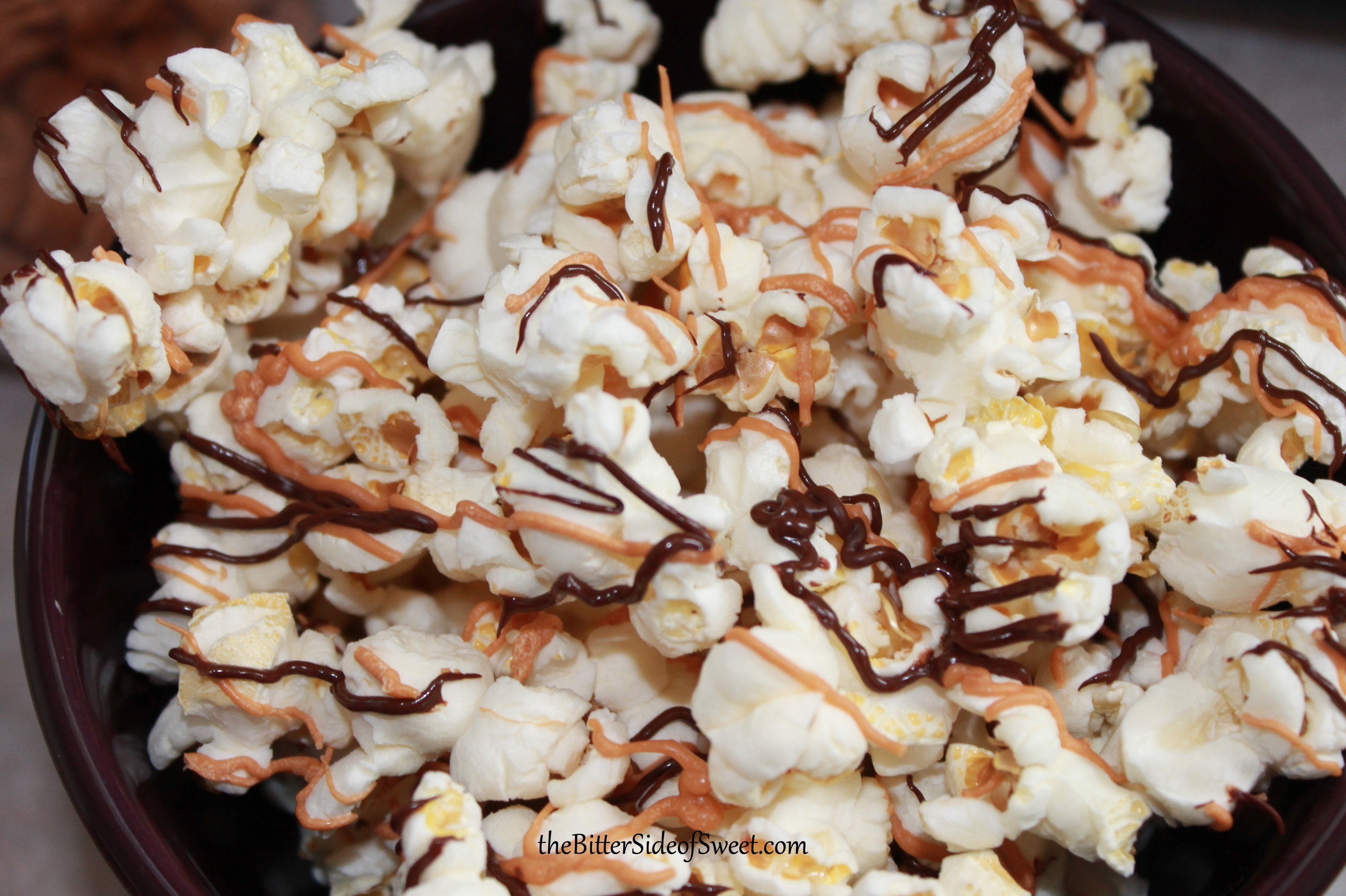 Butterscotch Chocolate Popcorn