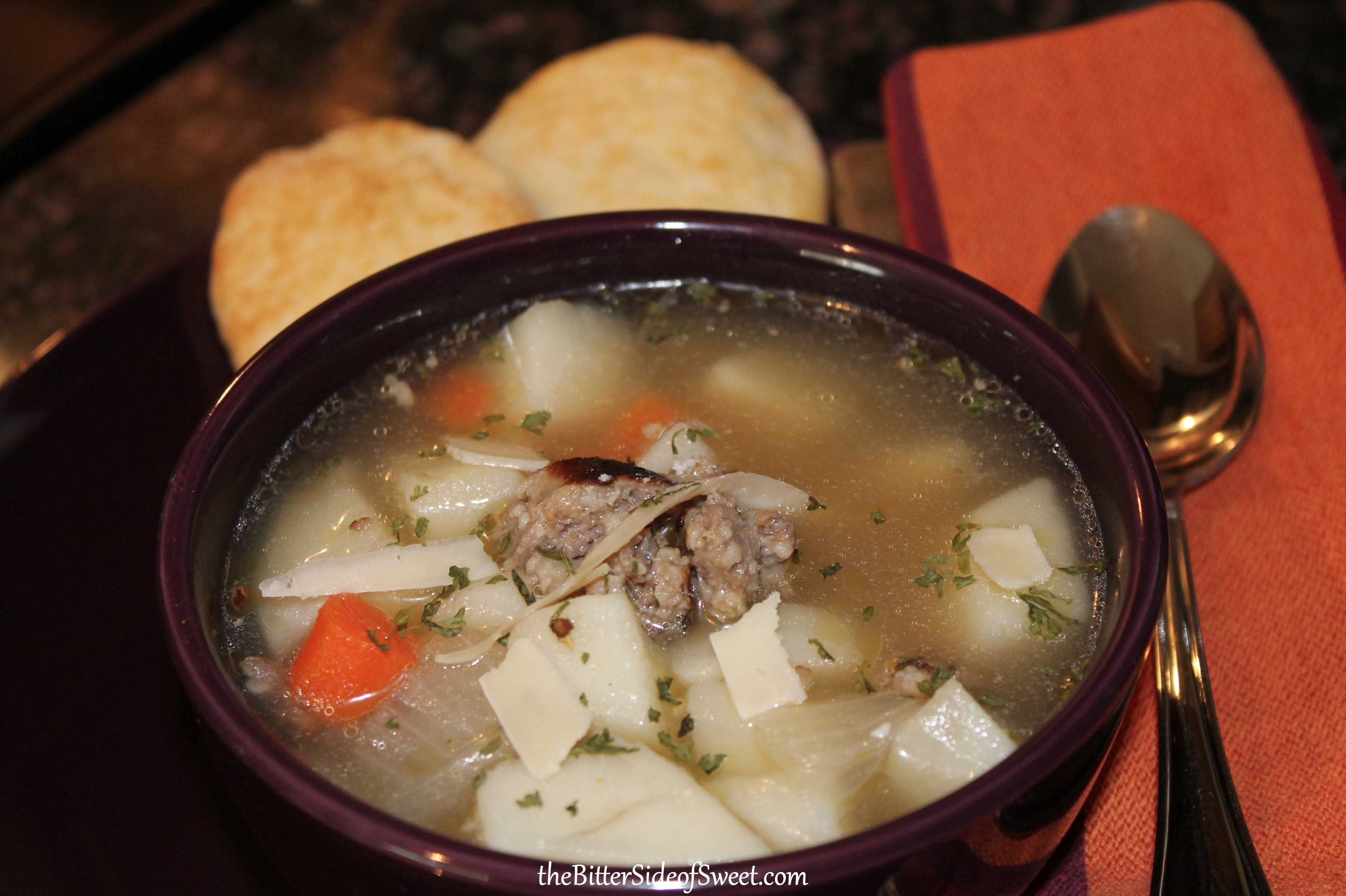 Sausage and Vegetable Soup