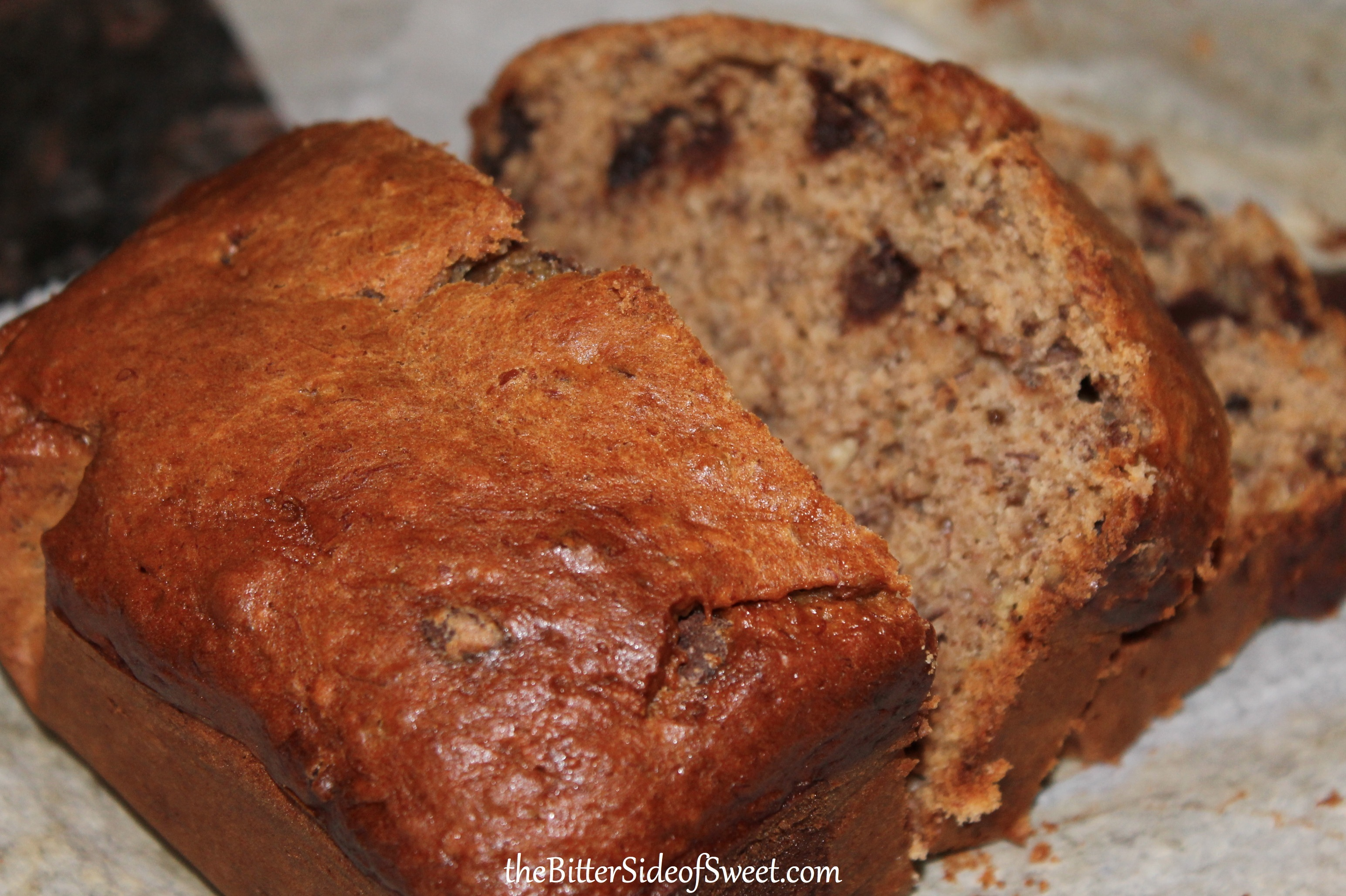 Banana Chocolate Nut Bread