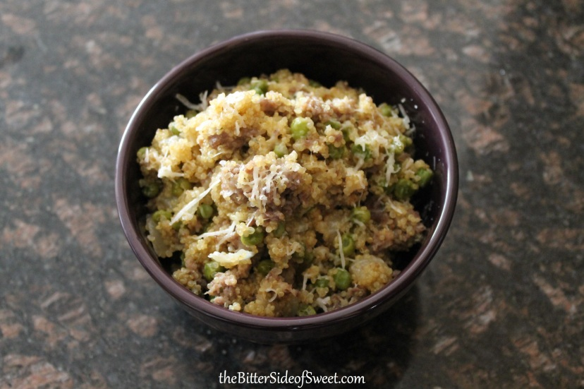 Sausage and Peas Quinoa5
