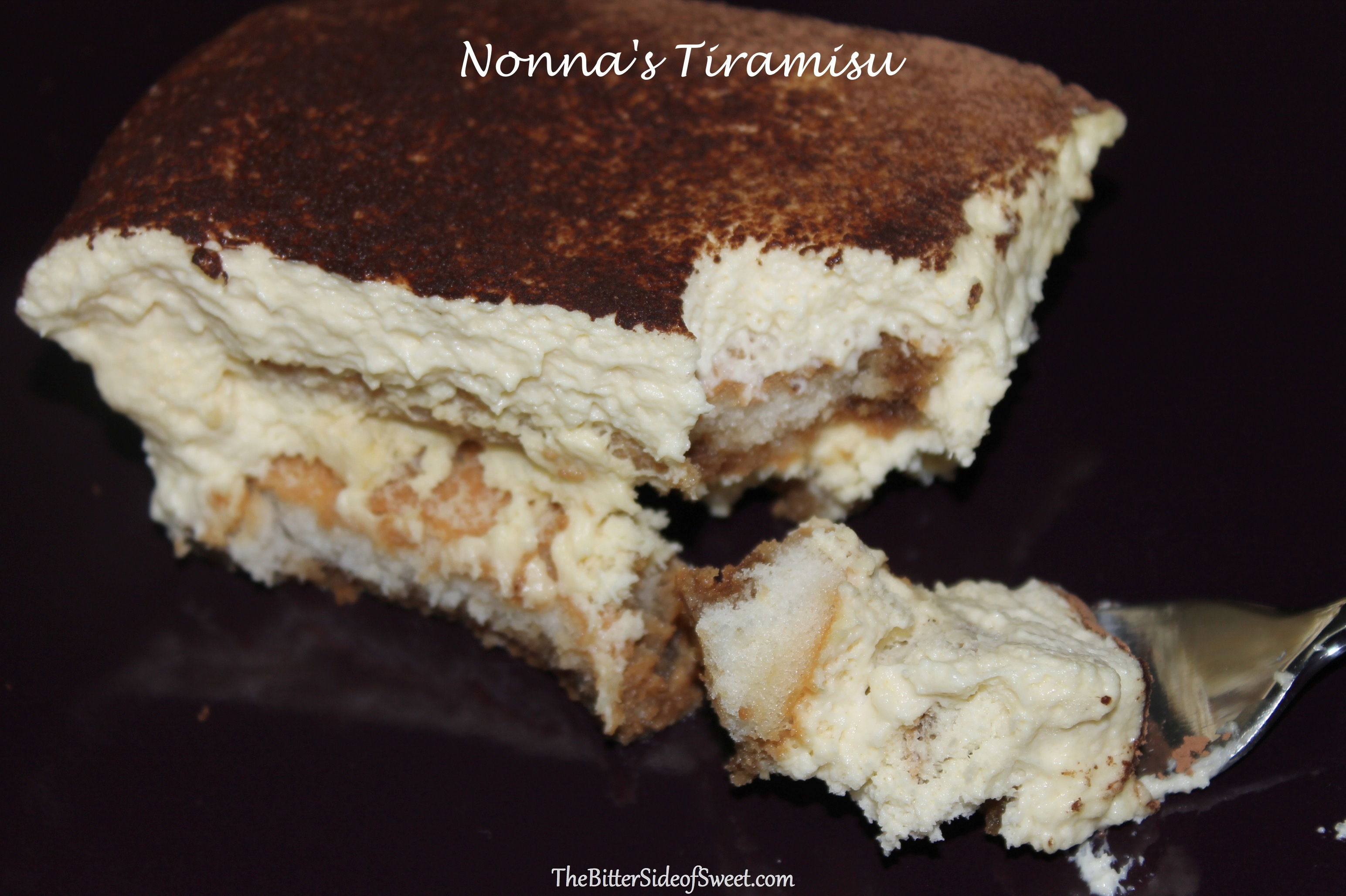 Valentine's Day Nonna's Tiramisu