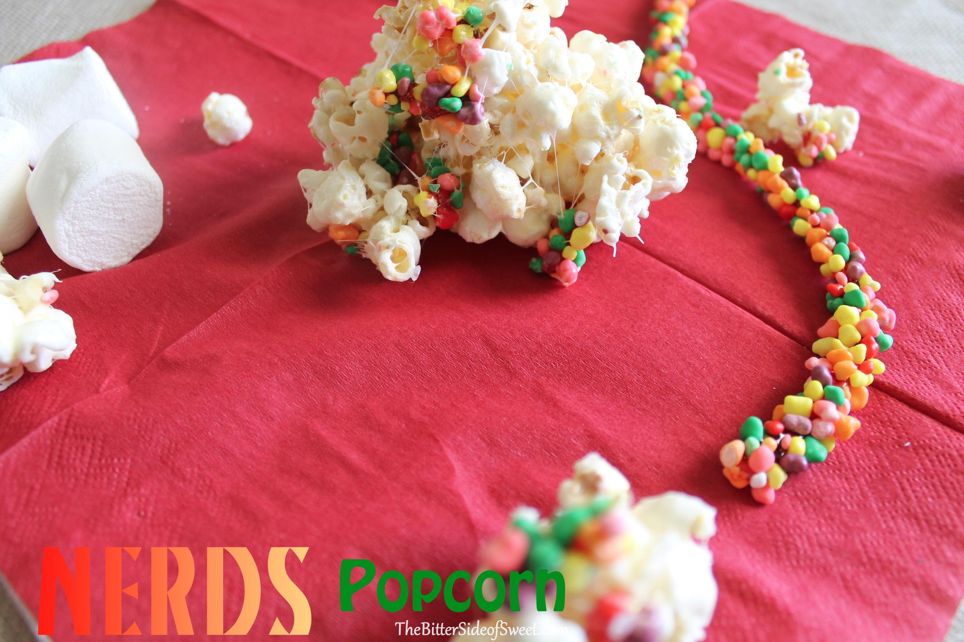 Rainbow Nerds Rope Candy Popcorn