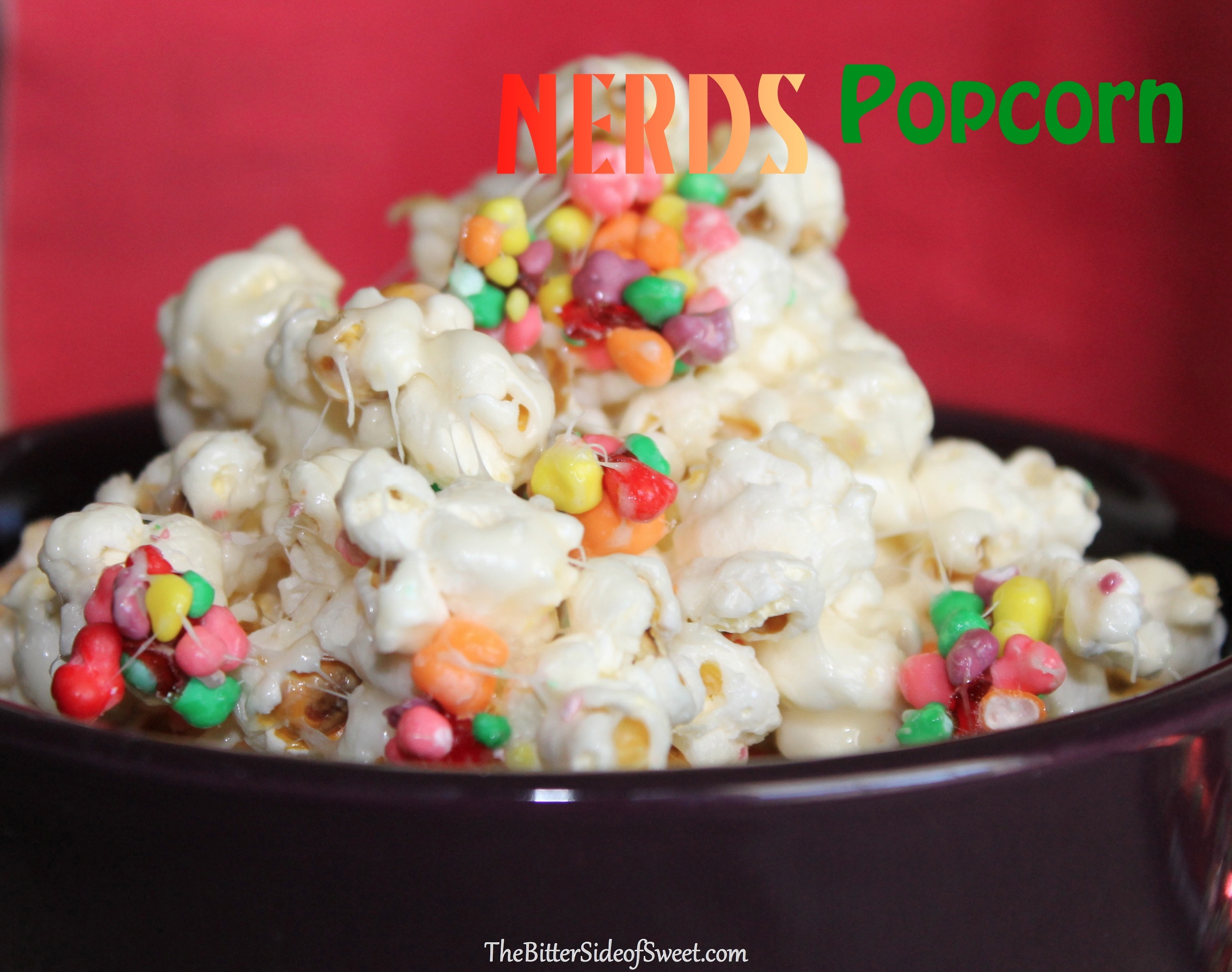 Rainbow Nerds Rope Candy Popcorn
