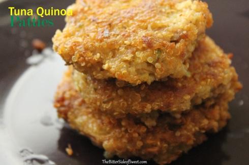 Tuna Quinoa Patties