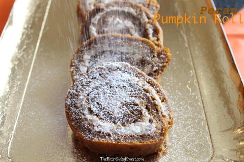 Pecan Pumpkin Roll