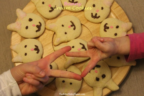 Bunny Cream Cookies