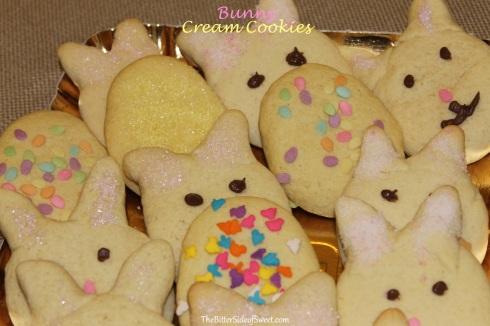 Bunny Cream Cookies
