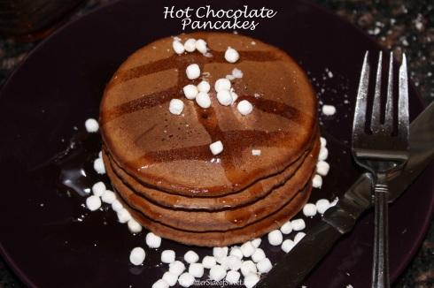 Hot Chocolate Pancakes