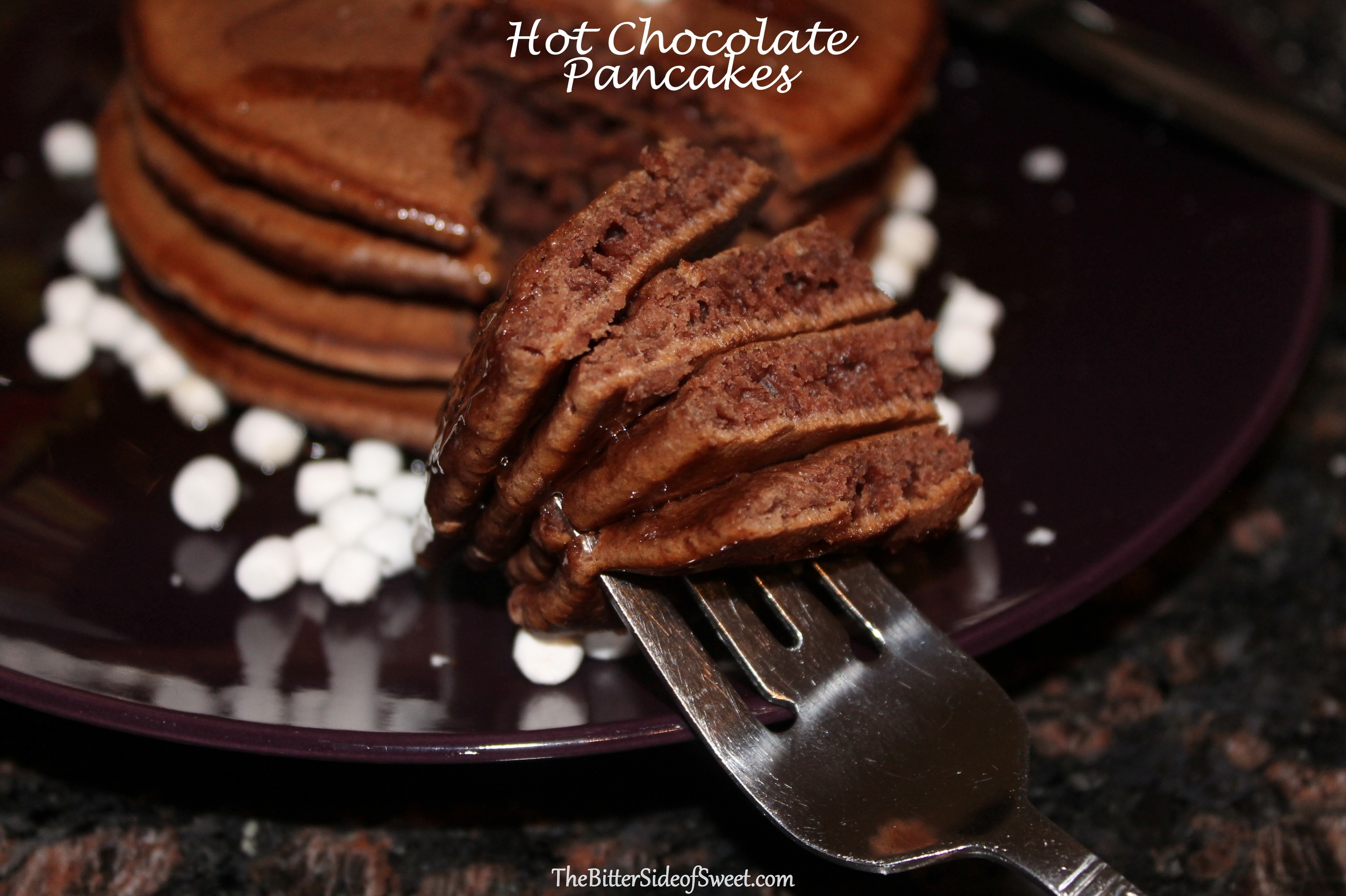 Watch How to Make Hot Chocolate Pancakes video