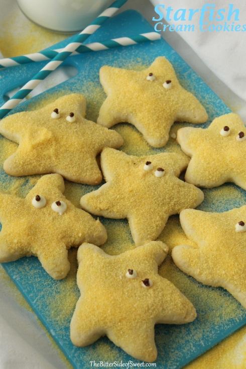 Starfish Cream Cookies